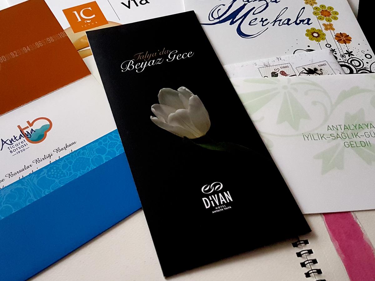 Birleşmiş Fikirler - Divan Hotels Antalya Talya Davetiye